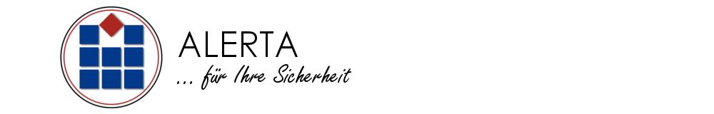 ALERTA - Sicherheit vom Profi Logo